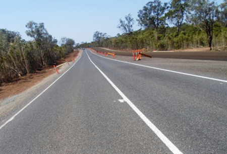 TMR Wide Bay Burnett Region Project Bruce Highway (Gympie – Maryborough), Northbound Passing Lane north of Chinaman Creek, Approximate Chainages 64.7km – 68.9km