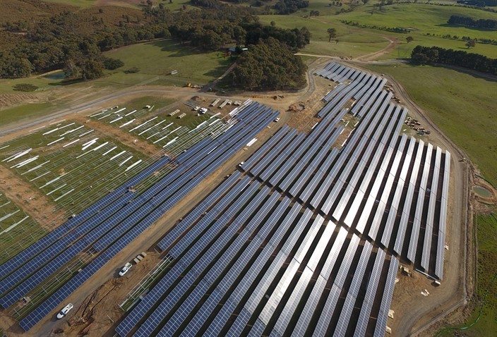Gullen Solar Farm development