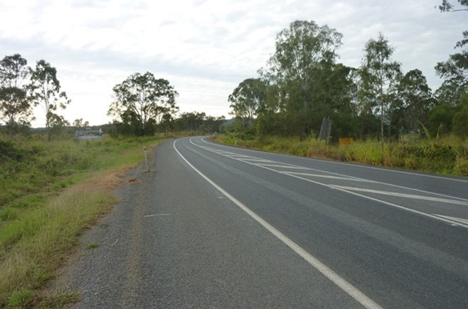Calliope River Road and Bruce Highway Intersection