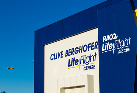 Clive Berghofer LifeFlight Base